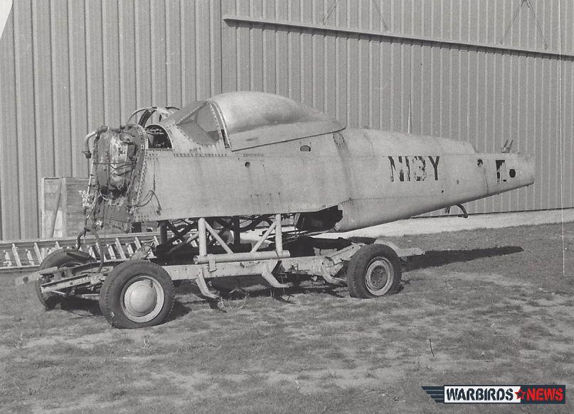 "NEAM's P51D ""N13Y"" mustang racer1"