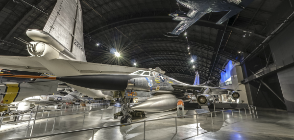 The Eugene W. Kettering Cold War Gallery features aircraft that span the years of the Cold War.