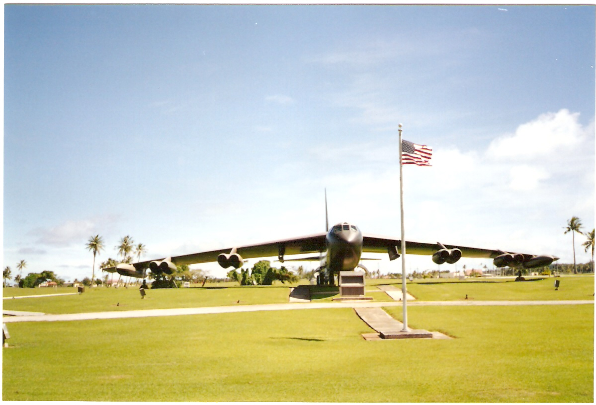 Operation ArcLight Memorial at Anderson AFB in Guam.