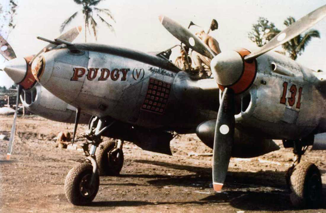 P-38 Pudgy-V_Thomas Buchanan McGuire