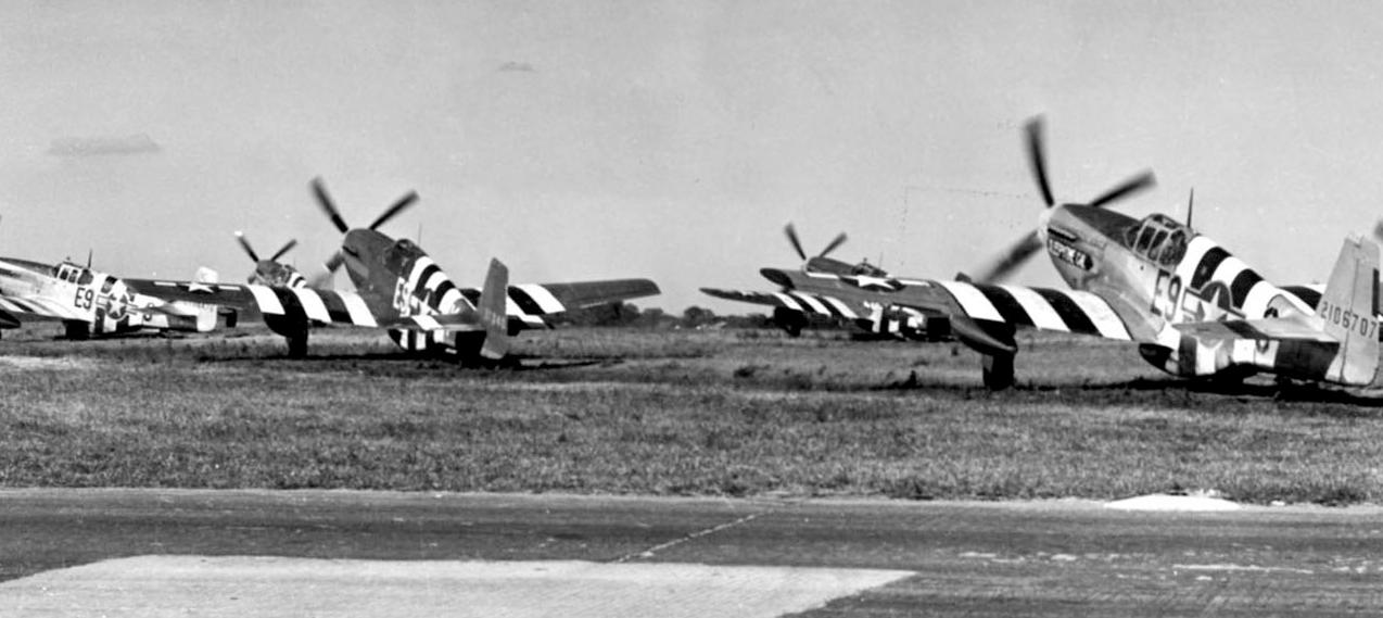 P-51 Invasion Stripes