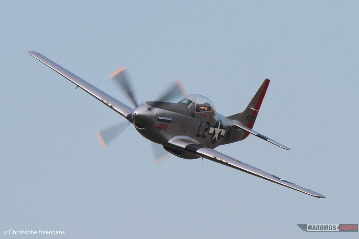P-51 Scat VII_ Christina Olds_ Photo By Christophe Haentjens1
