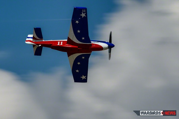 P-51D Mustang Miss America, winner of the Unlimited Silver race. (Image Credit: Moose Peterson)
