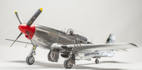 David began work on this 1:5 scale P-51D in March 2005 and donated it to the Royal Air Force Museum, Cosford in September 2013, shortly after completion.