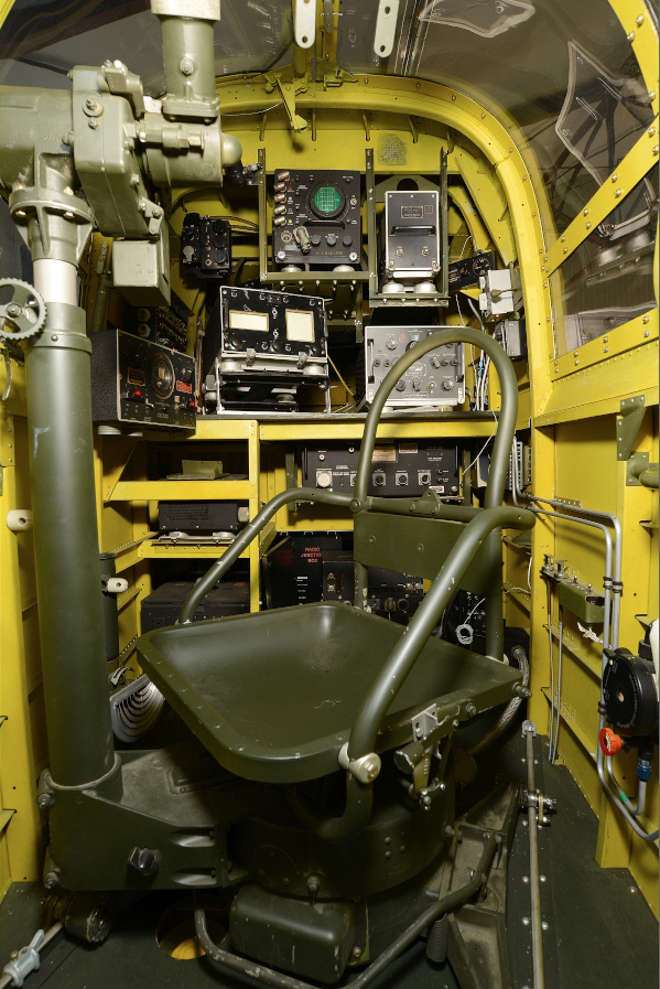 The beautifully restored Radio Operator's compartment . ( Image credit MAAM)