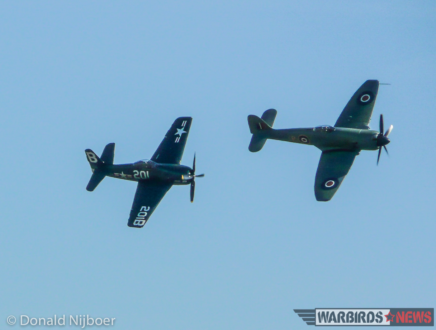 The Bearcat and Fury opened the show. (photo by Donald Nijboer)