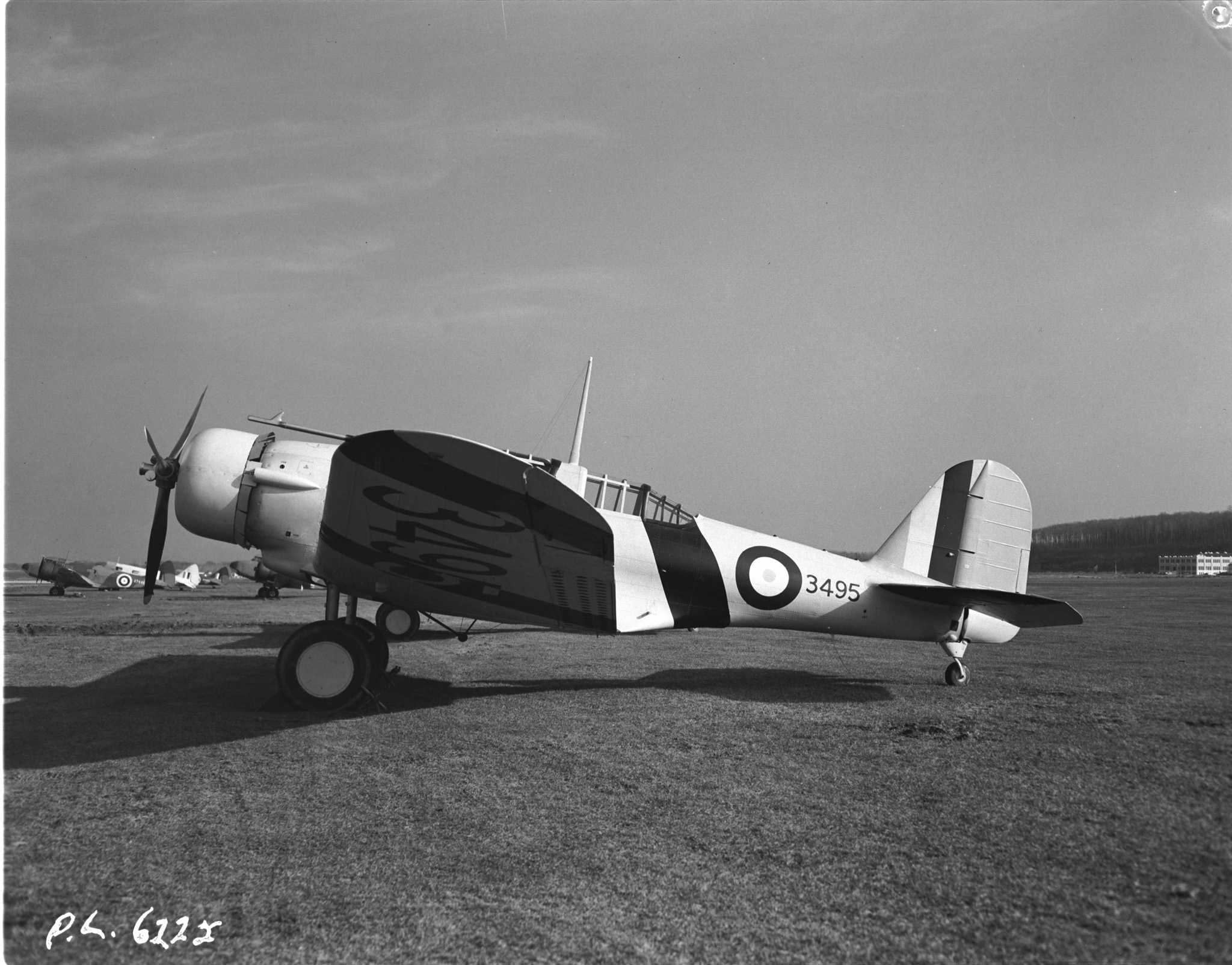 A wartime photo of an RCAF Northrop Nomad in Canada. (Canadian DND photo)
