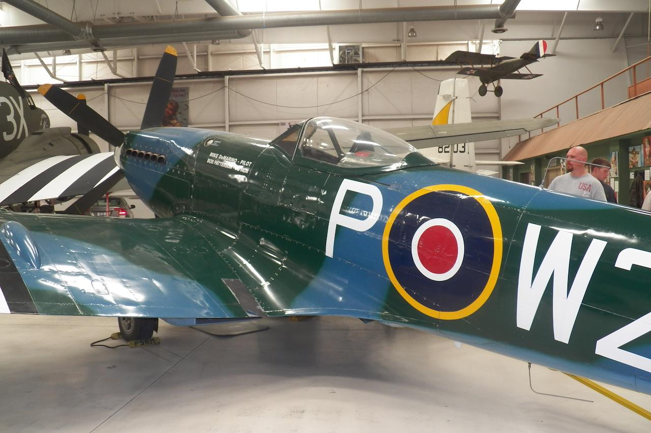 Palm Spring Air Museum Supermarine Spitfire copy