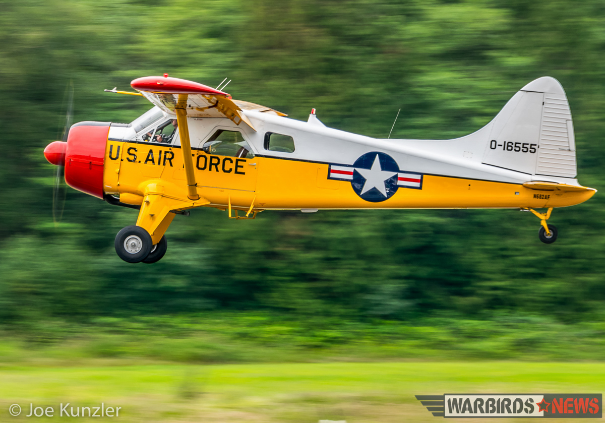 The Beaver during a low pass. (photo by Joe Kunzler)