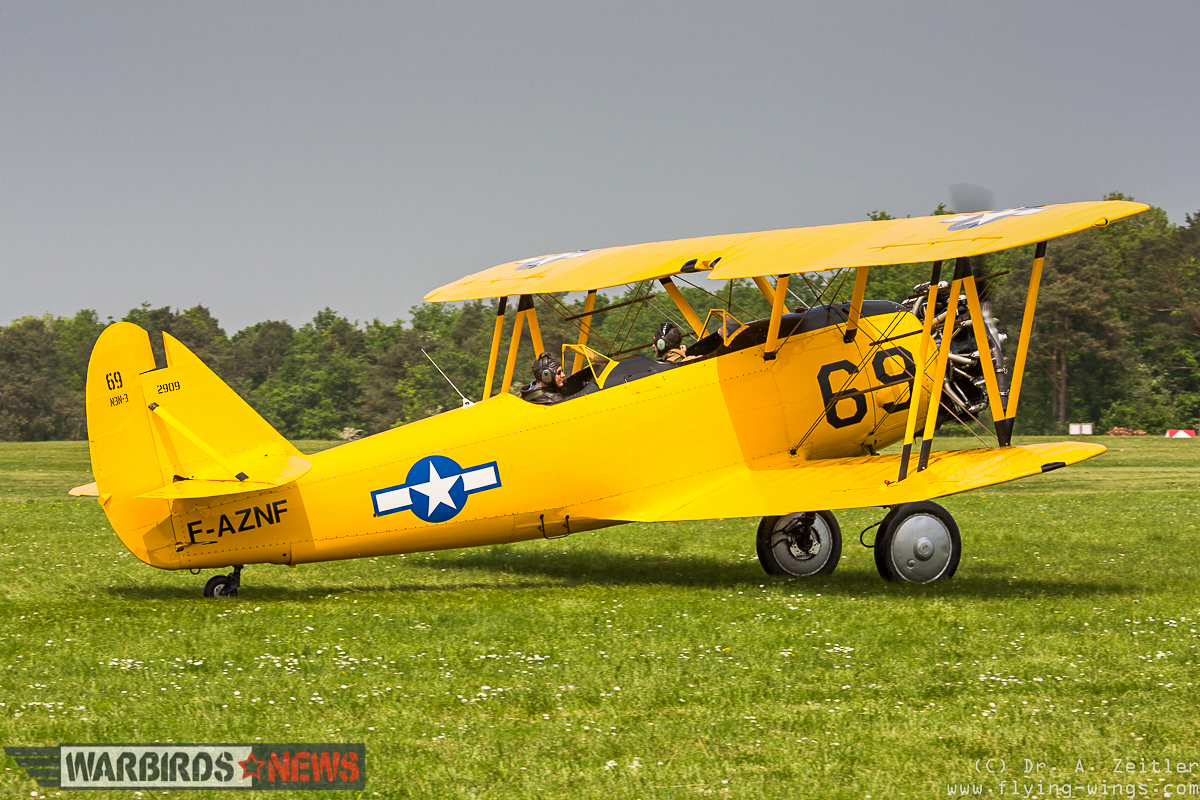 There are not too many N3N's flying these days, and this example made a welcome appearance. (photo by Andreas Zeitler)