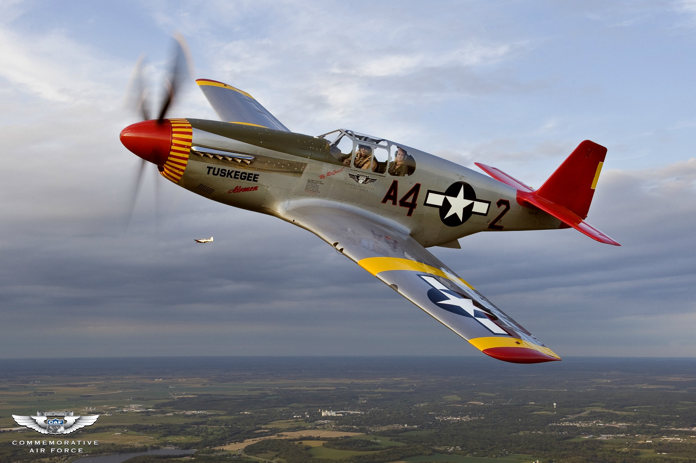 The P-51C captured by Max Haynes