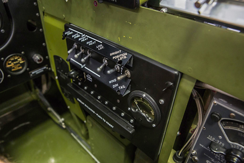 The right side switch box labels show clearly in this photo. (photo via AirCorps Aviation)