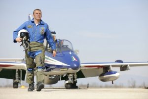 "PierCarlo was Training Supervisor and Aerobatic Instructor at the ""Frecce Tricolori"" Italian National Aerobatic Team where he flew all right positions of the 10 ship formation for 7+ years."