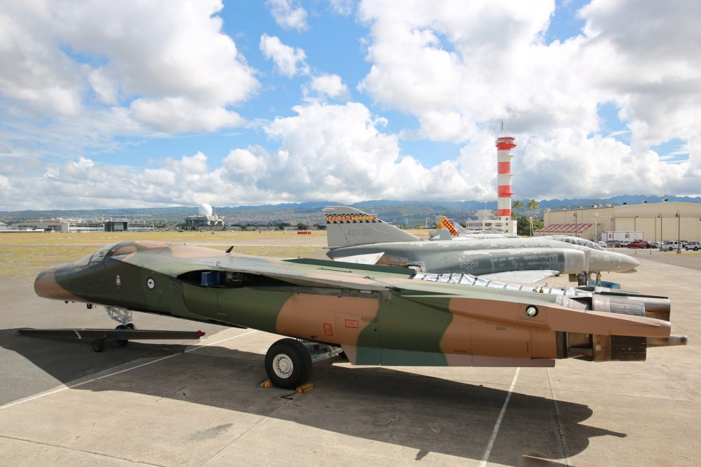 RAAG F-111C A8-130 awaiting reassembly at the Pacific Aviation Museum (Image Credit: Pacific Aviation Museum)