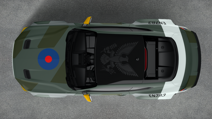 Custom Eagle Squadron Mustang GT Created for Charity