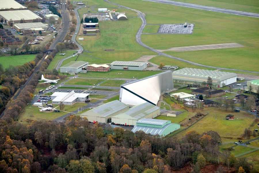 RAF Museum Cosford_aerial