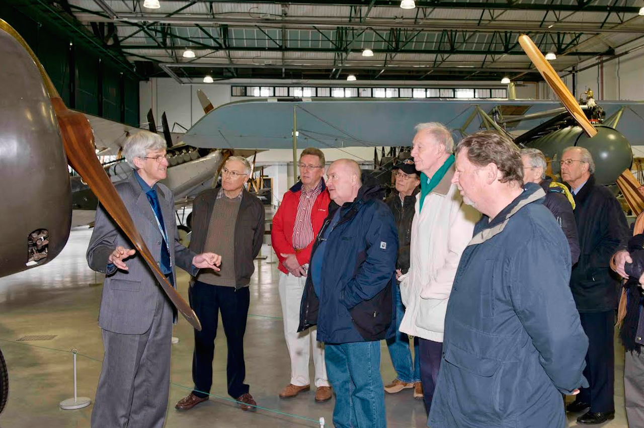 RAF Museum London Older visitors program