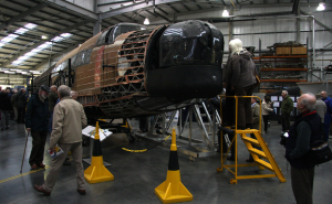 In October 2011 thousands of visitors visited the RAF Museum Cosford to view the restoration work taking place on the Vickers Wellington.