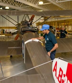 RAF_Museum_London_Apprentice_Baljit_Singh_Badesha