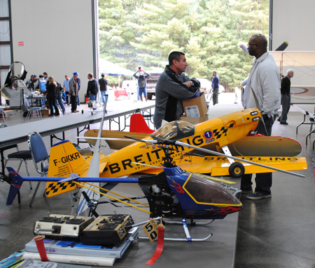 An image from a previous RC Aircraft Swap Meet at the New England Air Museum. (photo via NEAM)