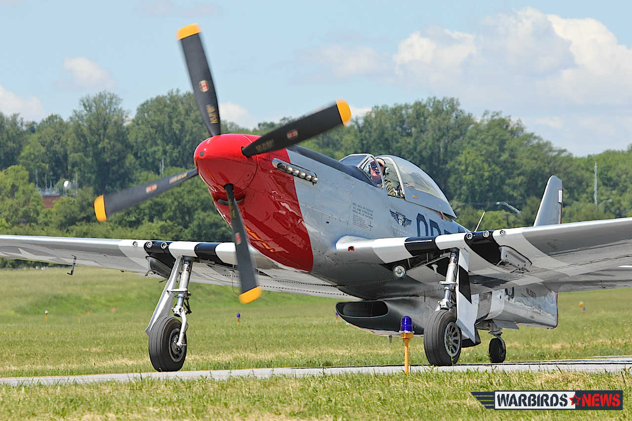 "CAF Dixie Wing's P-51D ""Red Nose."" ( Photo by Tom Pawlesh)"