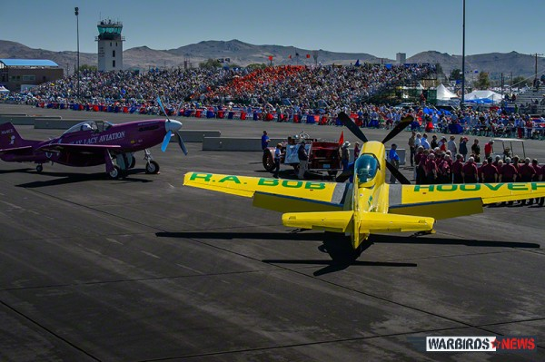 Day Five Welcoming Ceremony at Reno Air Races (Image Credit: Moose Peterson)