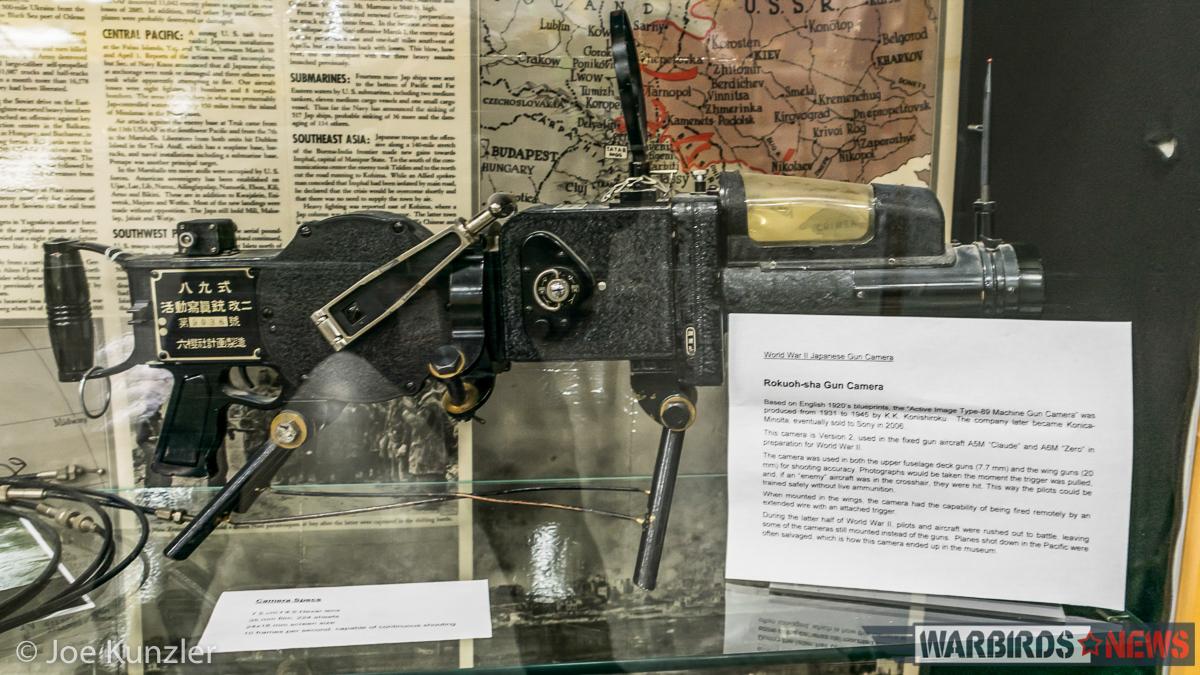 Rokuoh-sha Gun Camera belonging to the HFM.(photo by Joe Kunzler)