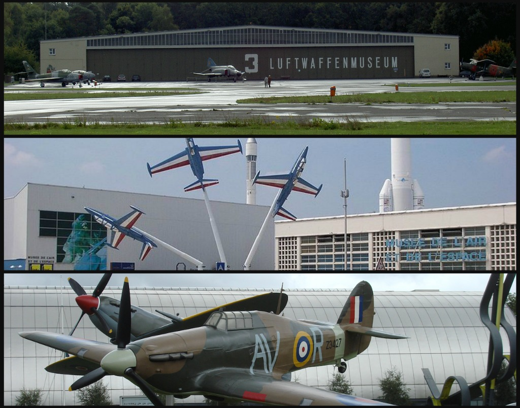 Royal Air Force Museum_Musée de l'Air et de l'Espace_Militärhistorische Museum der Bundeswehr