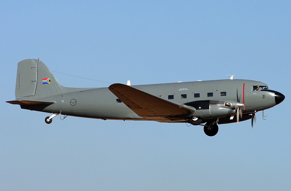 SAAF C-47TP Turbo Dakota (Photo by Jaco Du PLessi)s