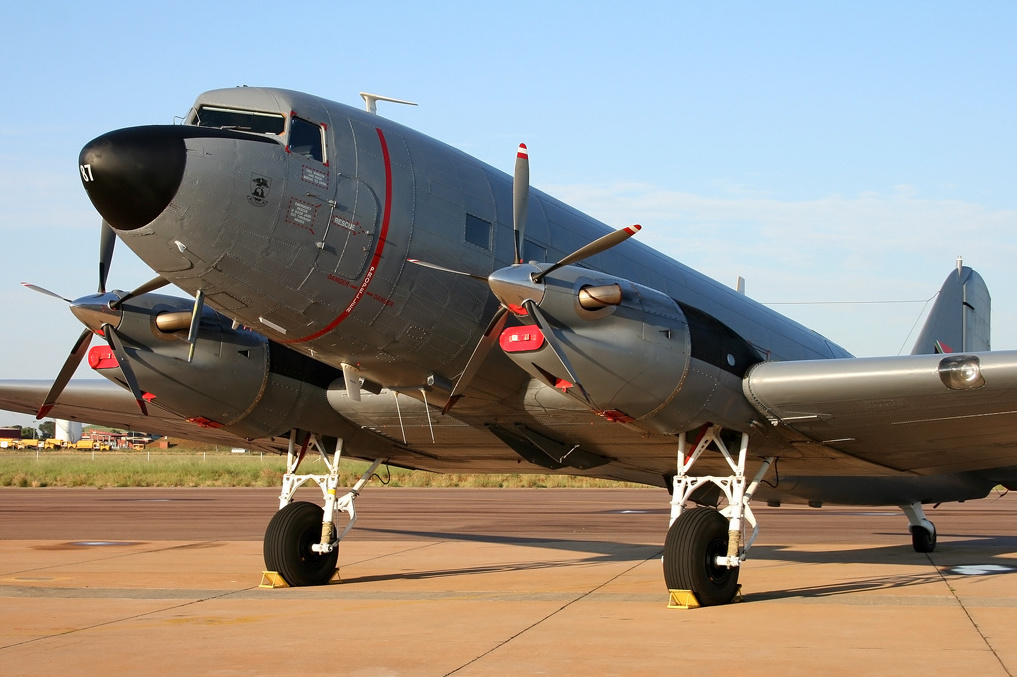 SAAF's C-47TP Turbo Dakota (Photo by Jaco Du PLessis)
