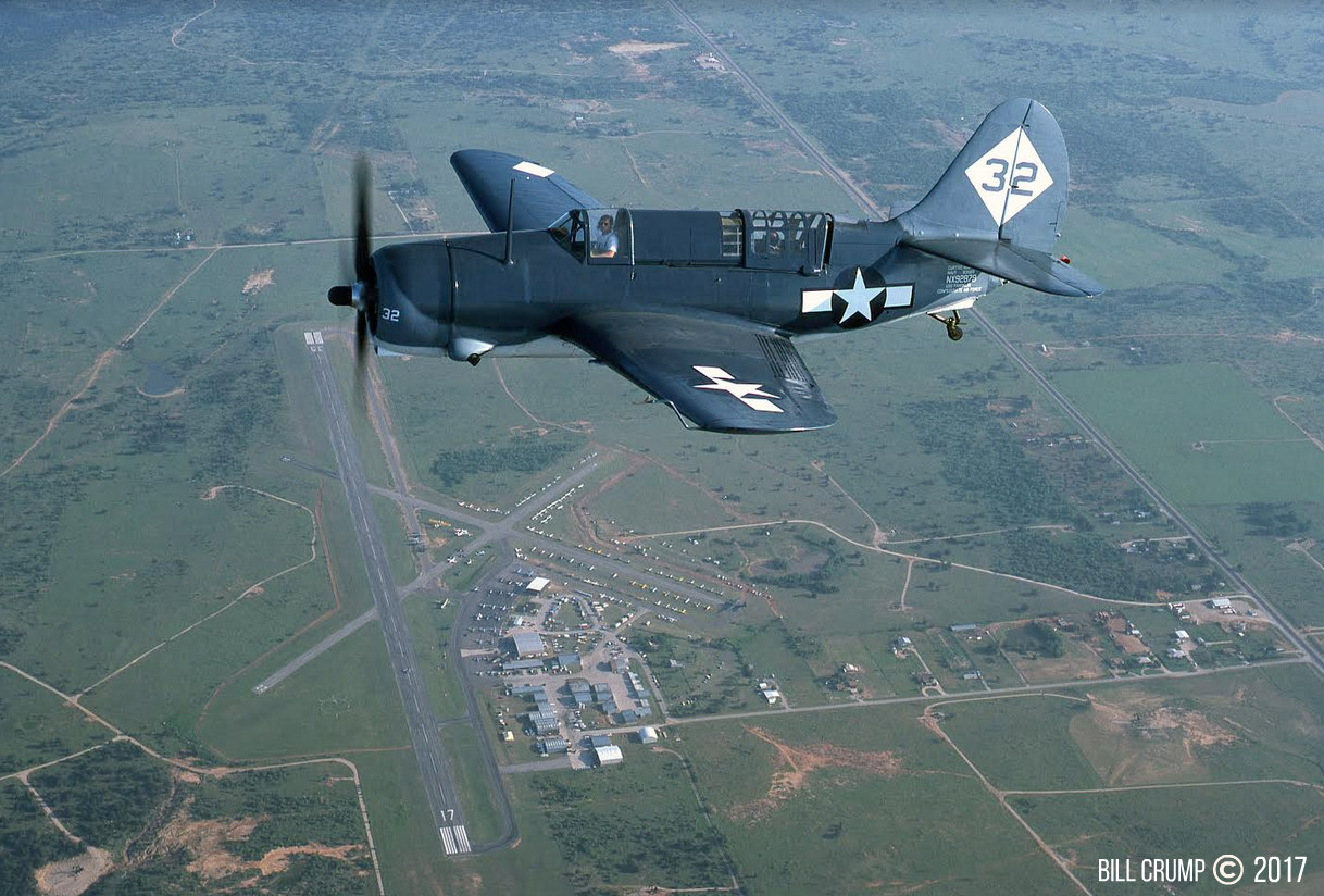 SB2C Helldiver_Breckenridge Airshow_WM
