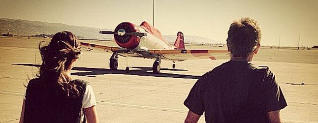Sean Tucker and his T-6. (photo via Warbird Radio)