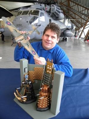 Shropshire Scale Model Show Organiser Gary Stevens.