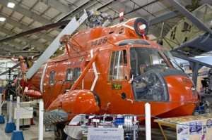 Sikorsky HH-52 Seaguard will be open for visitors to check out the interior of this amphibious search-and-rescue helicopter. (Image Credit: New England Air Museum)