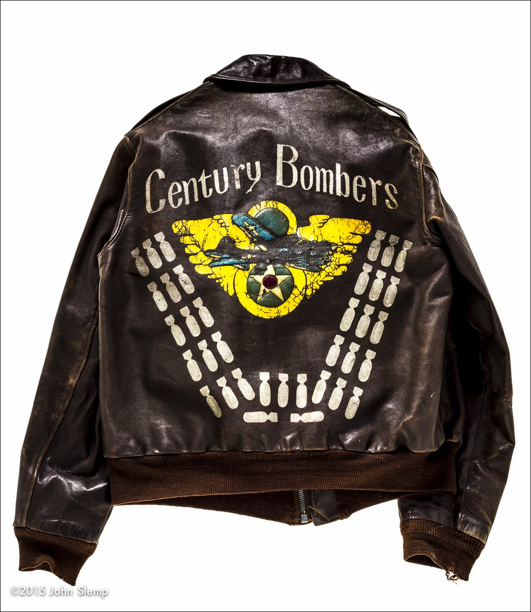 Captain Frederick G. Smith was a B-17 co-pilot who completed 35 missions from 11 August, 1944 to 21 January, 1945 thereby completing his combat tour.  He passed away on 23 June, 2011.  His jacket was loaned courtesy of his son, Rick.
