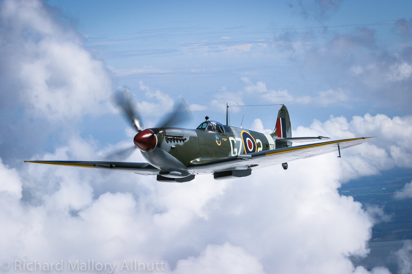 The Military Aviation Museum's Spitfire Mk IXe will be one of the special guest of the event. Image by Richard Mallory Allnutt.