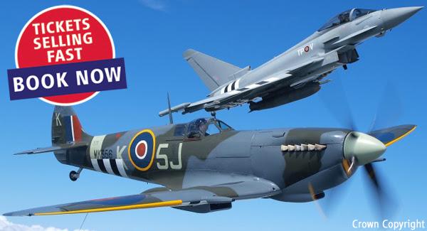 Spitfire Eurofighter Flypast