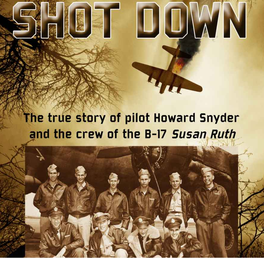 The cover of SHOT DOWN.
