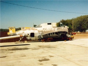 TBM Avenger at Tom Reilly's in 1987.