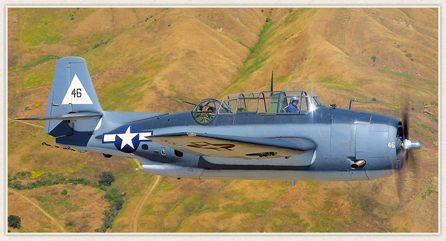 The Planes of Fame Museum's TBM-3E Avenger will be present, and hopefully fly, at the October 4th Museum event. (POF photo)