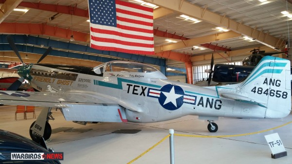 The War Eagle's TF is the only original TF or TP still flying. (Image credit Elena DePree)