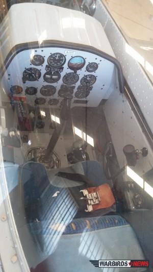 Rear cockpit of the TF-51 Mustang ( Image credit Elena DePree)