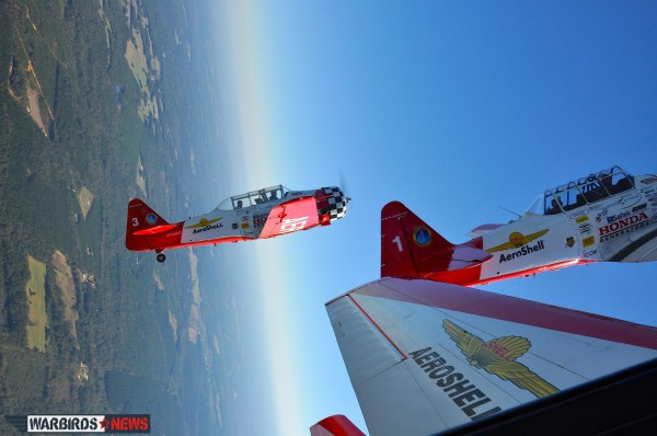 We had the opportunity to fly in Aeroshell 2 during one of the team's practice flights. ( Image credit Moreno Aguiari)