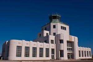 Terminal Building at angle