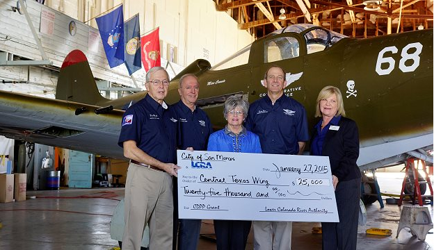 The CAF Central Texas Wing Receives Grant for Historic Hangar