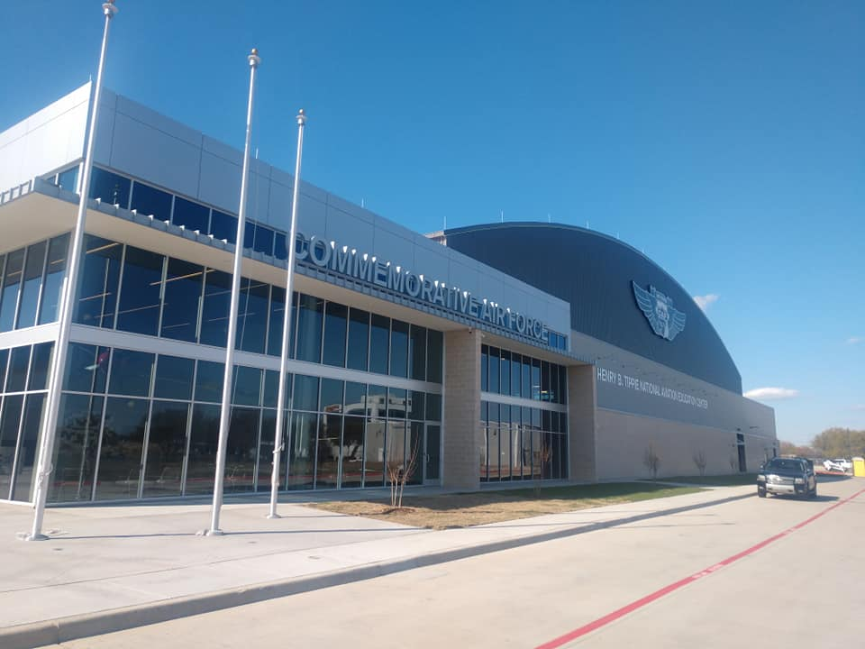 The Henry B Tippie National Aviation Education Center at Commemorative Air Force HQ in Dallas
