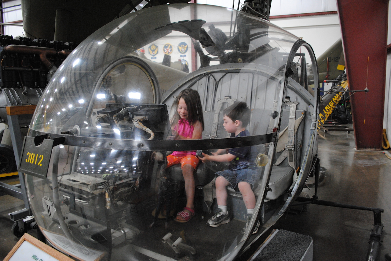 The New England Air Museum open Cockpit