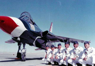 Image by Check-SIx.com, click HERE to read more about the crash of the Thunderbirds' F-105B  At Hamilton AFB, California May 9, 1964