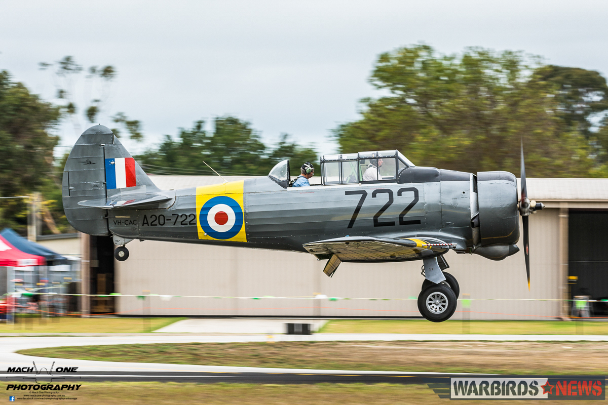 This Tyabb-based Commonwealth CA-16 Wirraway is owned by Borg Sorensen. (photo by Matt Savage)