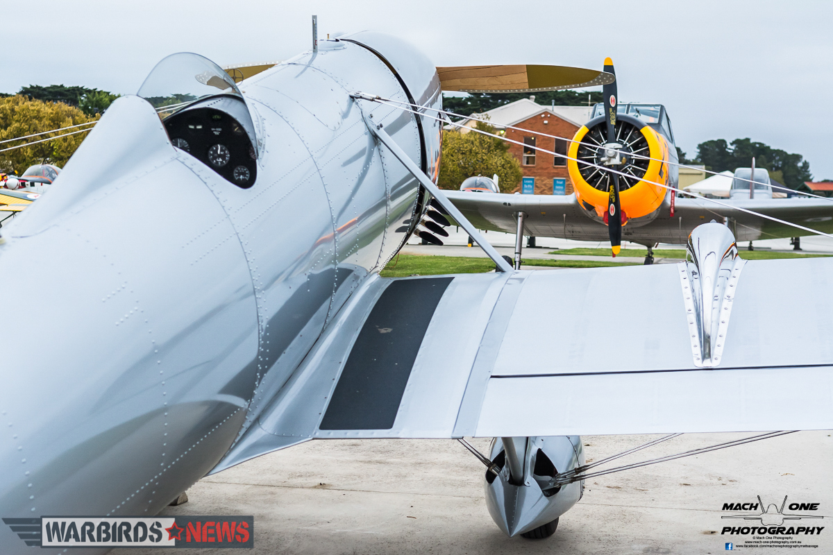 Another view of the Graham Hosking's Ryan STA-Special with his CA-25 Winjeel in the background. (photo by Matt Savage)